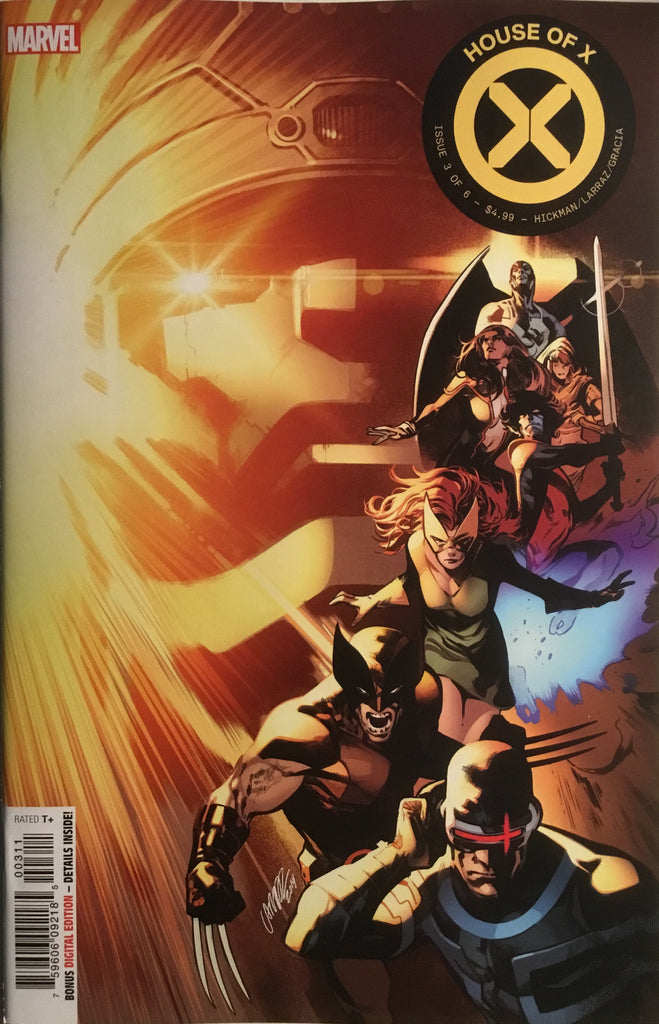 HOUSE OF X # 3 FIRST PRINTING