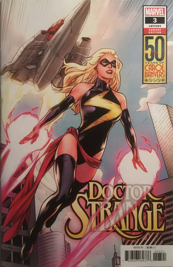 DOCTOR STRANGE (2018-) # 03 CAPTAIN MARVEL VARIANT COVER