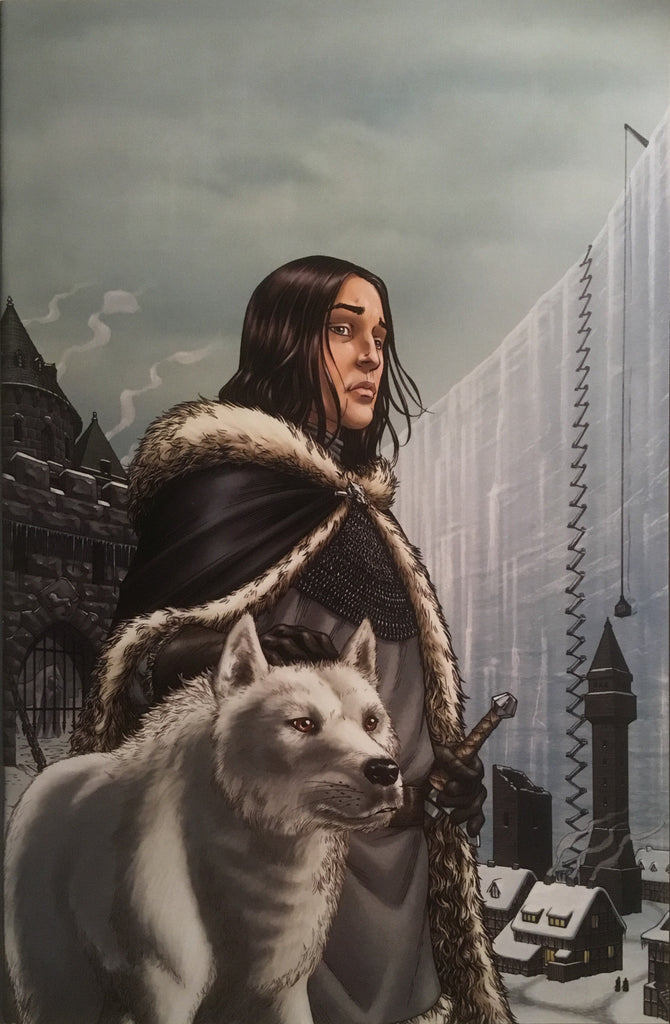 GAME OF THRONES (2011) # 4 1:15 VIRGIN VARIANT COVER