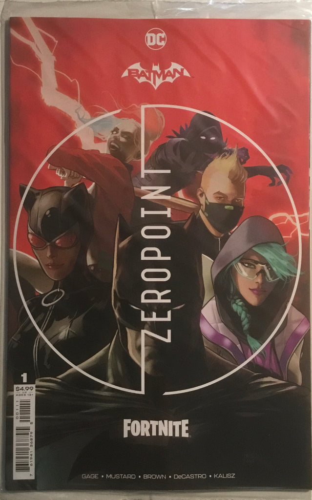 BATMAN / FORTNITE ZERO POINT # 1