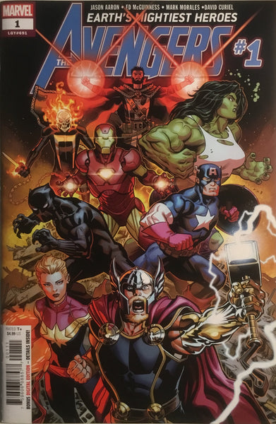 AVENGERS (2018) # 1 FIRST PRINTING