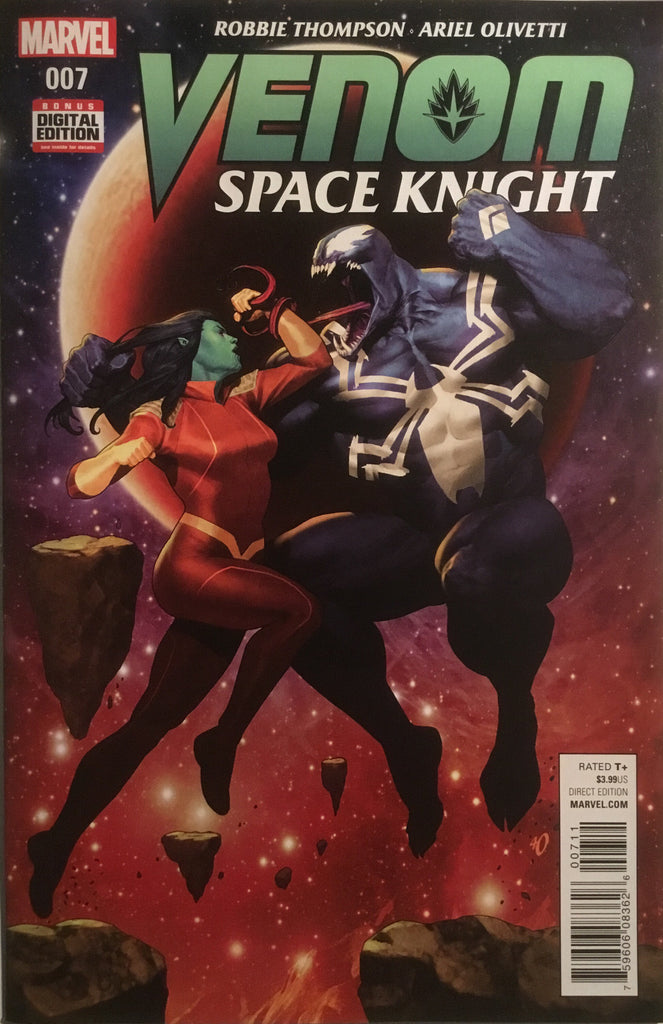 VENOM SPACE KNIGHT # 7