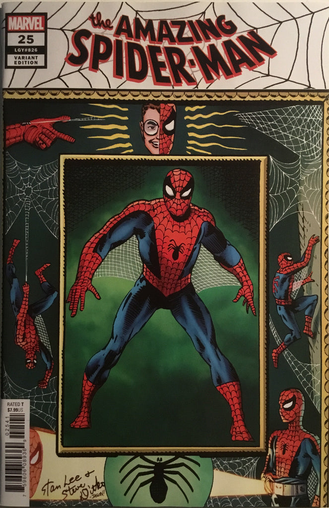 AMAZING SPIDER-MAN (2018-) # 25 DITKO HIDDEN GEM 1:100 VARIANT COVER