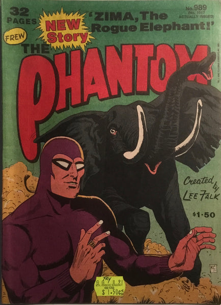 THE PHANTOM # 989