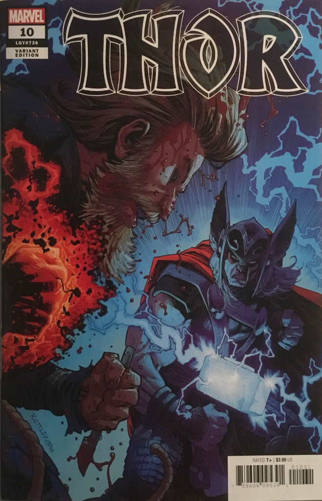 THOR (2020) #10 OTTLEY 1:50 VARIANT COVER
