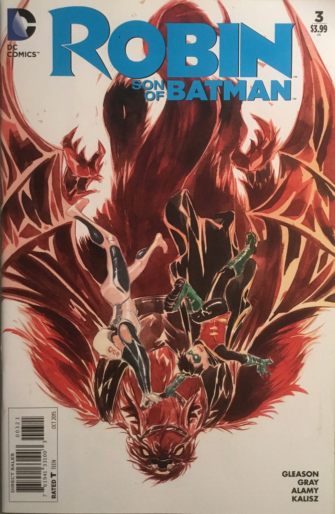 ROBIN SON OF BATMAN # 3 NGUYEN 1:25 VARIANT COVER