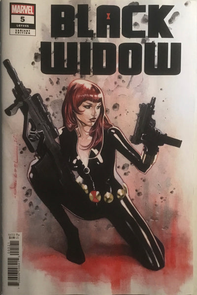 BLACK WIDOW (2020) # 5 COIPEL 1:25 VARIANT COVER