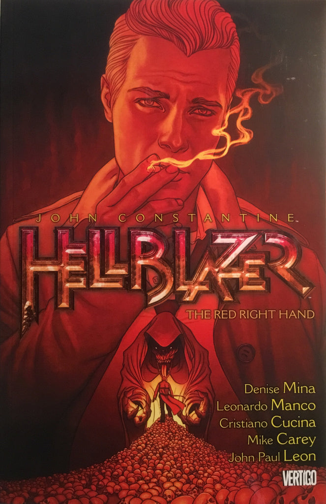 HELLBLAZER VOL 19 THE RED RIGHT HAND GRAPHIC NOVEL