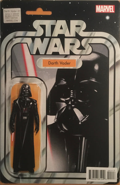 STAR WARS DARTH VADER (2015-2016) # 1 ACTION FIGURE VARIANT COVER