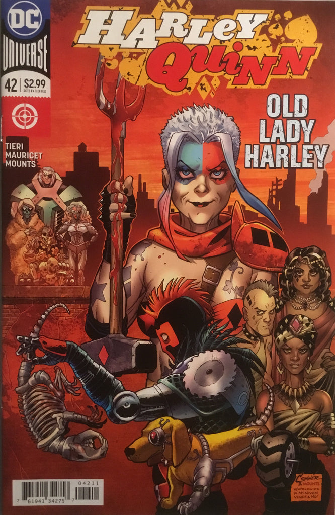 HARLEY QUINN (REBIRTH) # 42 FIRST APPEARANCE OF OLD LADY HARLEY