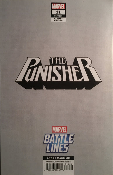 PUNISHER (2018) # 11 BATTLE LINES VARIANT COVER