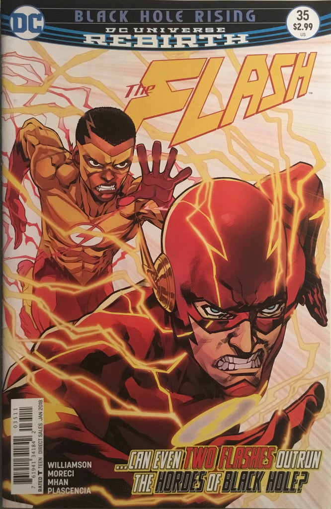 FLASH (REBIRTH) # 35