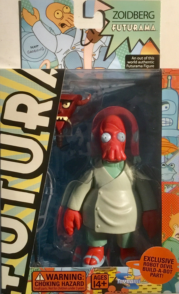 FUTURAMA ZOIDBERG ACTION FIGURE