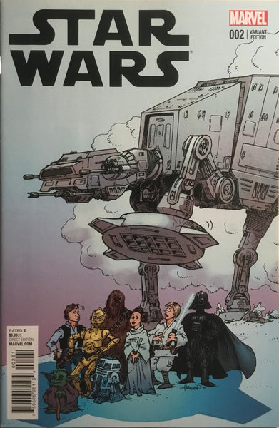 STAR WARS (2015-2020) # 2 ARAGONES VARIANT COVER