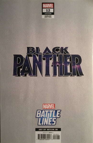 BLACK PANTHER (2018-) # 12 OKOYE BATTLE LINES VARIANT COVER