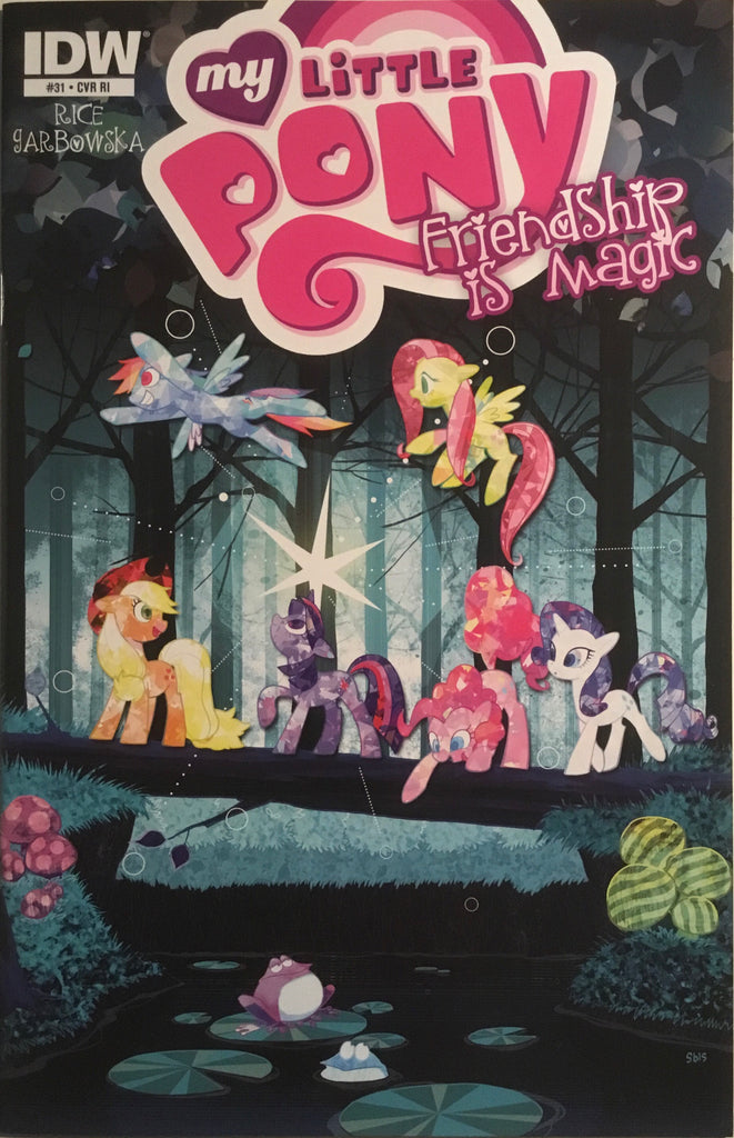 MY LITTLE PONY FRIENDSHIP IS MAGIC #31 RETAILER INCENTIVE 1:10 VARIANT COVER