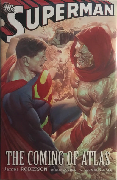 SUPERMAN THE COMING OF ATLAS HARDCOVER GRAPHIC NOVEL