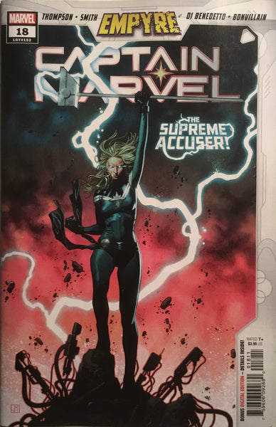 CAPTAIN MARVEL (2019) #18 FIRST APPEARANCE OF LAURI-ELL