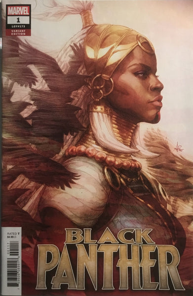 BLACK PANTHER (2018-) # 01 ARTGERM VARIANT COVER