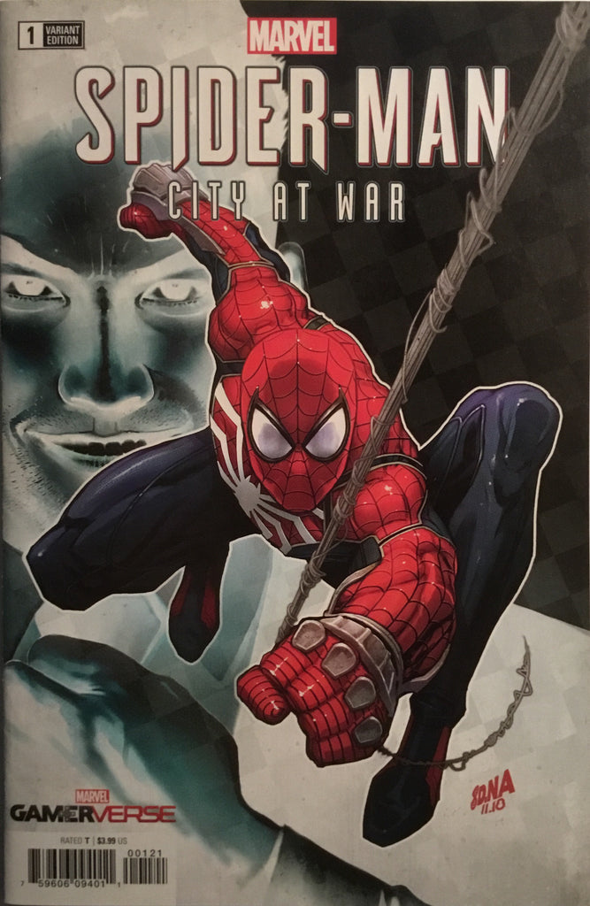 SPIDER-MAN CITY AT WAR # 1 NAKAYAMA 1:50 VARIANT COVER