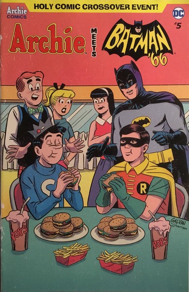ARCHIE MEETS BATMAN '66 #5 GALVAN COVER
