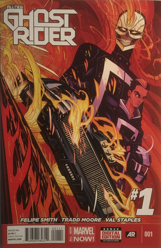 ALL NEW GHOST RIDER # 1 FIRST APPEARANCE OF ROBBIE REYES