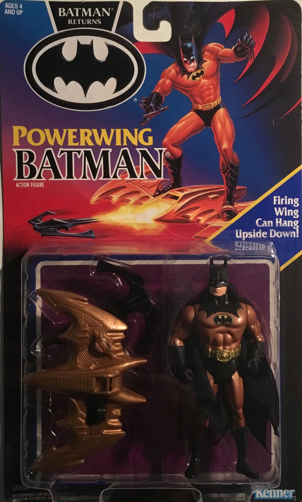 BATMAN RETURNS 1991 POWERWING BATMAN ACTION FIGURE