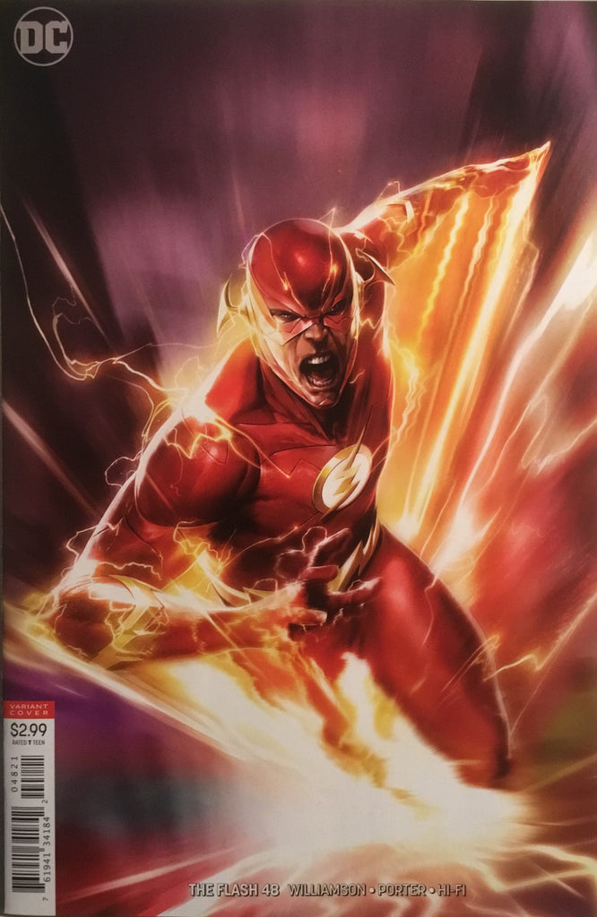 FLASH (REBIRTH) # 48 MATTINA VARIANT COVER