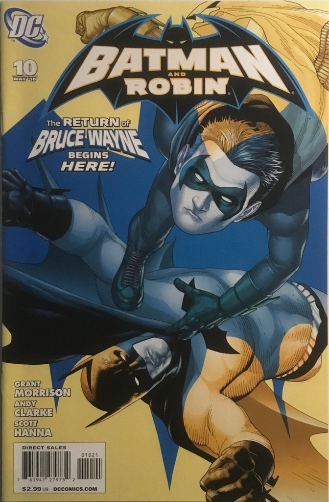 BATMAN AND ROBIN (2009-2011) #10 CLARKE 1:25 VARIANT COVER