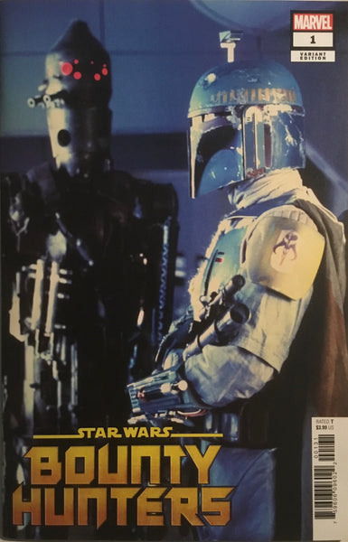 STAR WARS BOUNTY HUNTERS # 1 MOVIE PHOTO 1:10 VARIANT COVER
