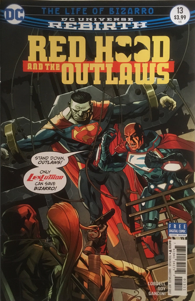 RED HOOD AND THE OUTLAWS (REBIRTH) # 13
