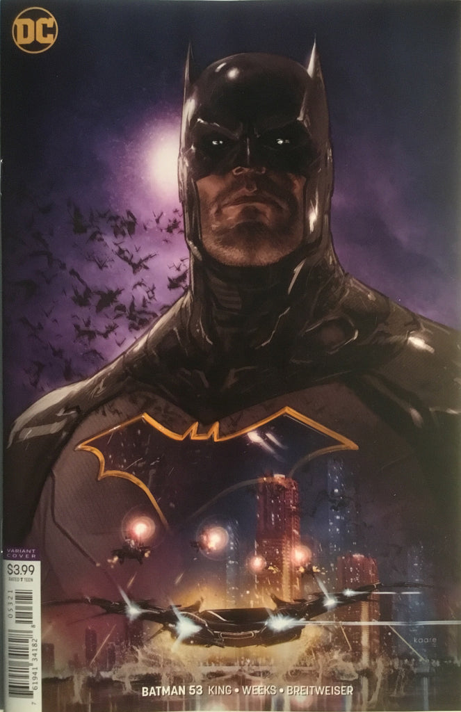 BATMAN (REBIRTH) # 53 VARIANT COVER