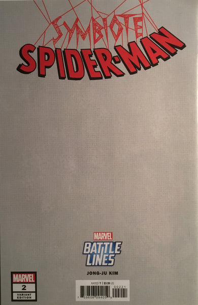 SYMBIOTE SPIDER-MAN # 2 BATTLE LINES VARIANT COVER