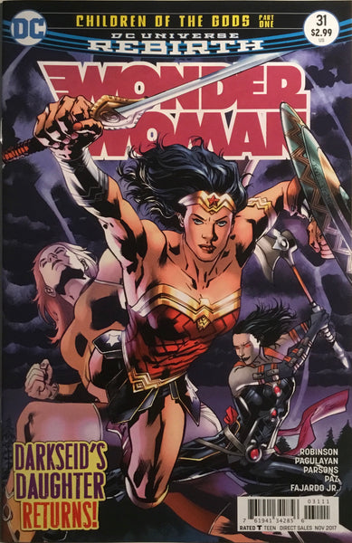 WONDER WOMAN (REBIRTH) #31
