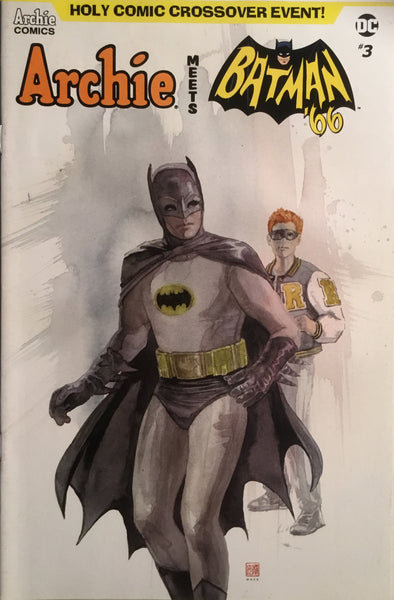 ARCHIE MEETS BATMAN '66 #3 MACK COVER