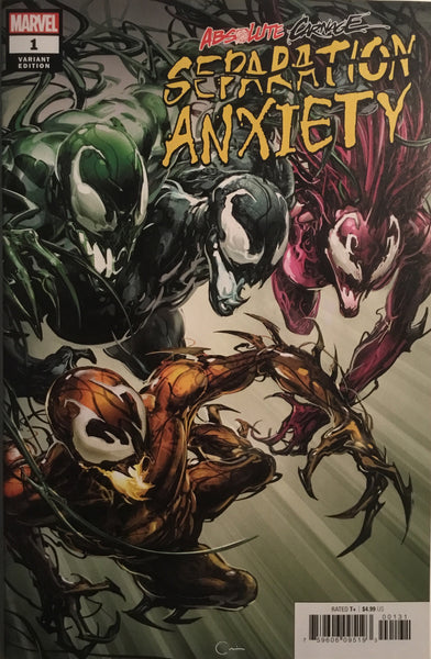 ABSOLUTE CARNAGE SEPARATION ANXIETY # 1 CRAIN 1:50 VARIANT COVER