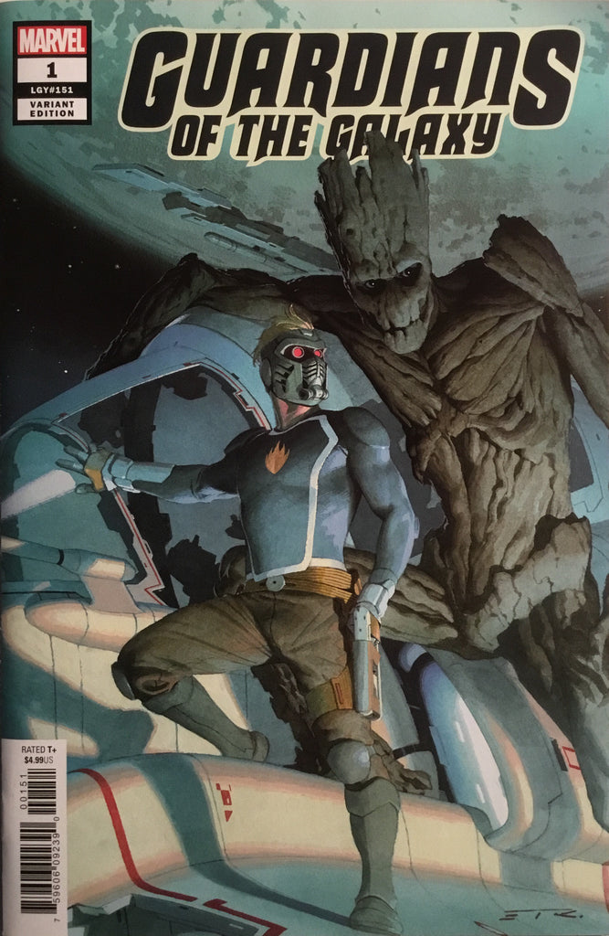 GUARDIANS OF THE GALAXY (2019-) # 1 RIBIC 1:50 VARIANT COVER