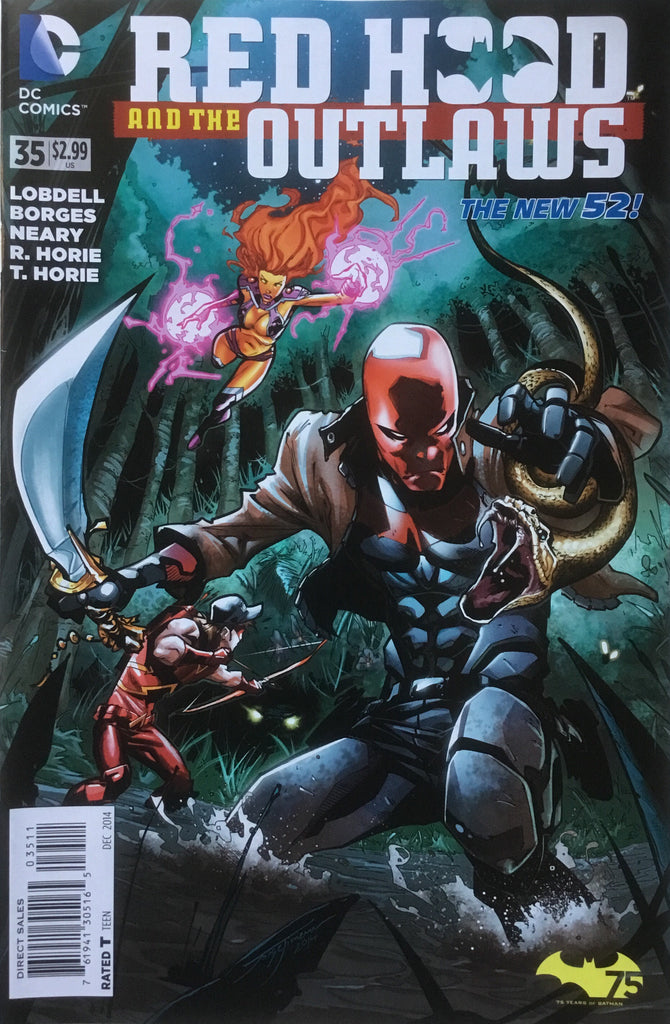 RED HOOD AND THE OUTLAWS (THE NEW 52) # 35