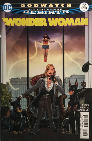 WONDER WOMAN (REBIRTH) #22