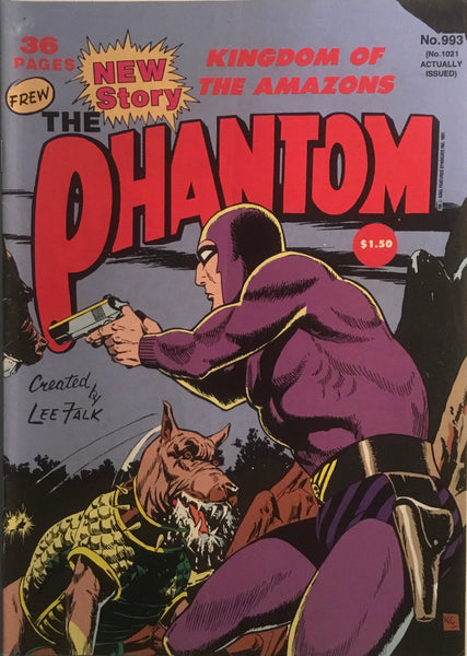 THE PHANTOM # 993