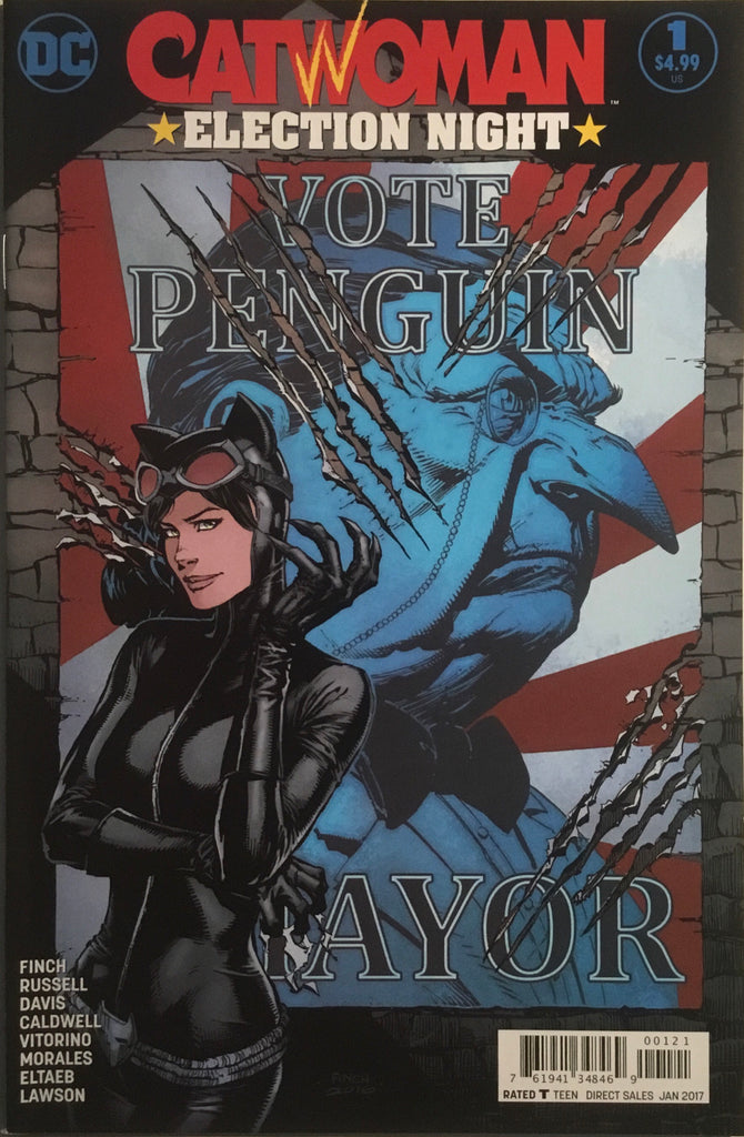 CATWOMAN ELECTION NIGHT ONE-SHOT VARIANT COVER