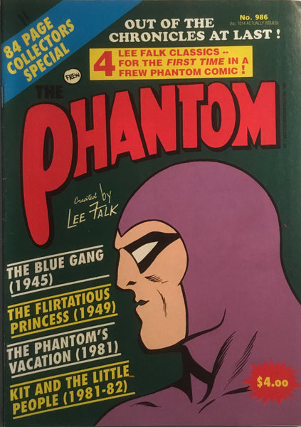 THE PHANTOM # 986