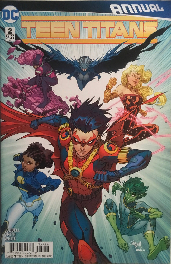 TEEN TITANS (NEW 52 SERIES 2) ANNUAL # 2