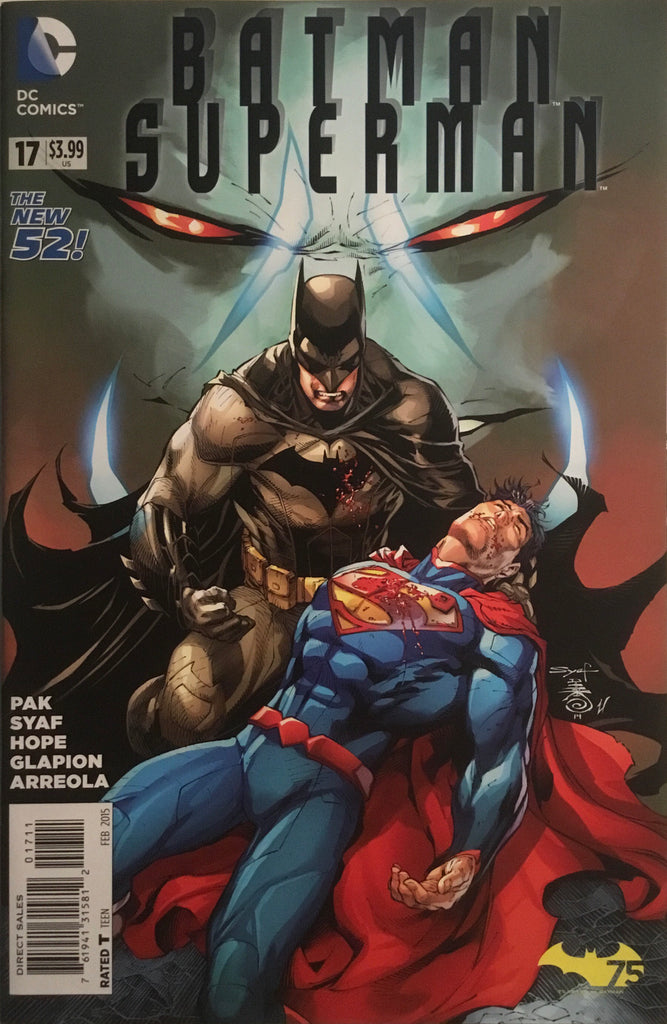 BATMAN / SUPERMAN (NEW 52) #17