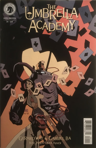 THE UMBRELLA ACADEMY SERIES 3 HOTEL OBLIVION # 1 NYCC RETAILER EXCLUSIVE VARIANT COVER