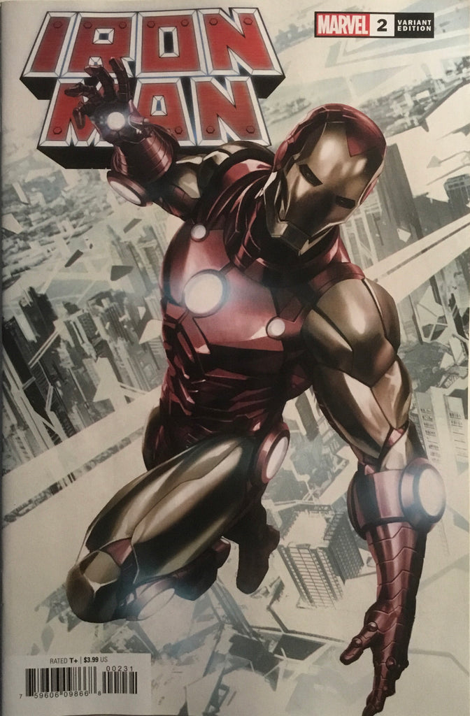 IRON MAN (2020) # 2 SKAN 1:25 VARIANT COVER
