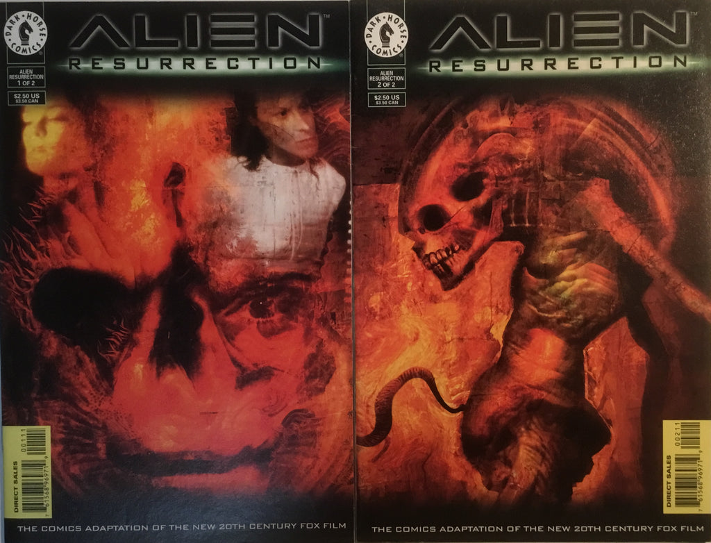 ALIEN : RESURRECTION # 1 & 2