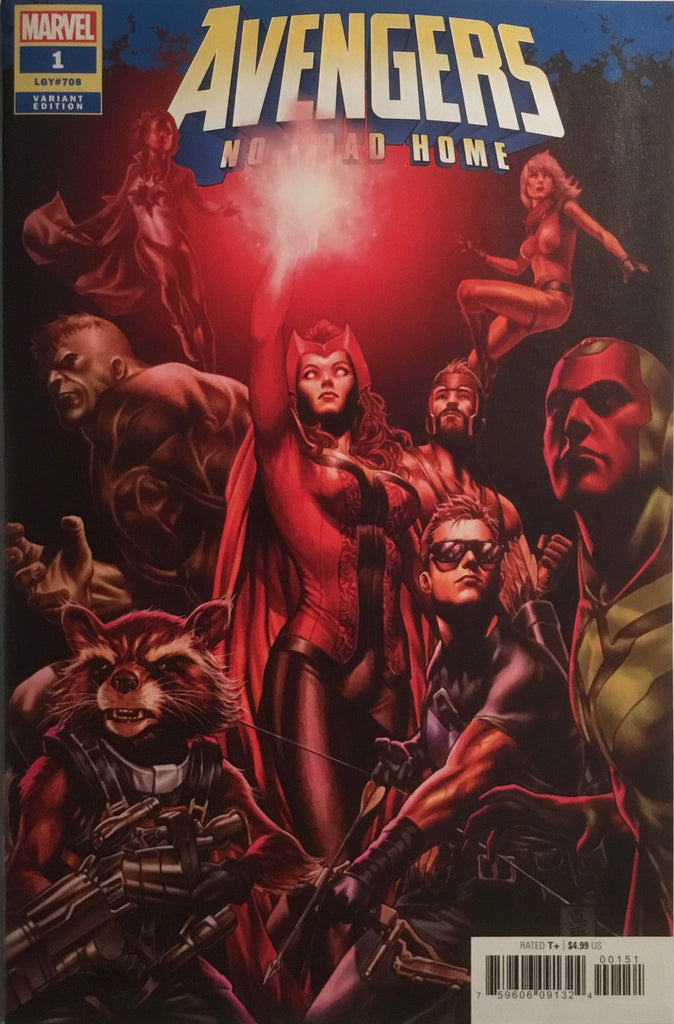 AVENGERS NO ROAD HOME # 1 BROOKS 1:25 VARIANT