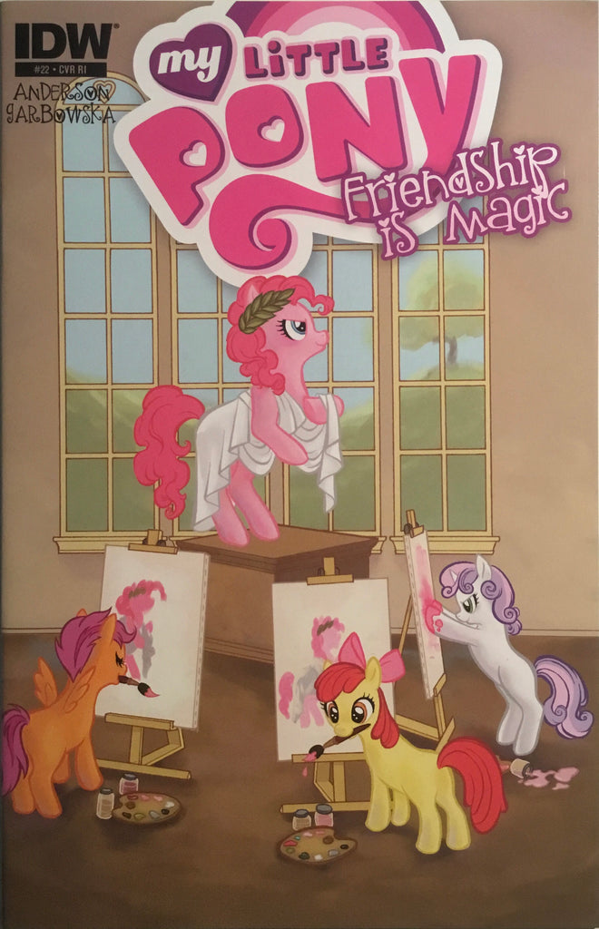 MY LITTLE PONY FRIENDSHIP IS MAGIC #22 RETAILER INCENTIVE 1:10 VARIANT COVER