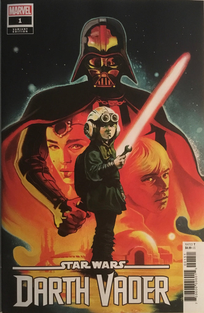STAR WARS DARTH VADER (2020) # 1 DEL MUNDO 1:100 VARIANT COVER